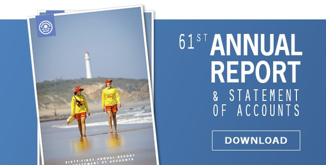 Fairhaven SLSC - 61st Annual Report and Statement of Accounts
